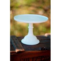 Medium White Milkglass Stand