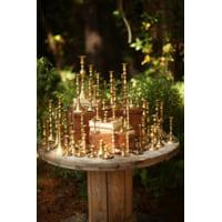 Brass Taper Candlestand