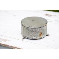 Small Rustic Round Riser