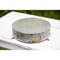 Large Rustic Round Riser