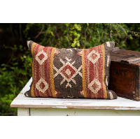 Rectangle Turkish Kilim Pillow