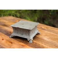 Small Rustic Square Riser