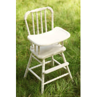 Cream High Chair