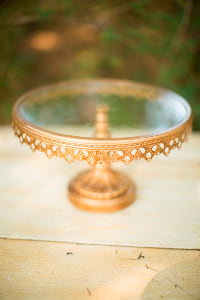 Large Antique Gold Stand