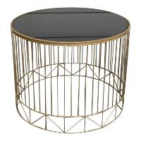 Samuel gold nesting table set