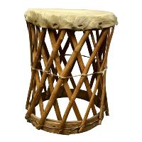 Sanora cowhide stool