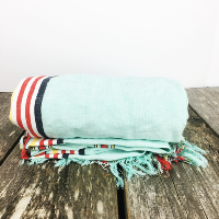 Summer stripe table cloth