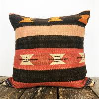 Vintage kilim pillow (orange)