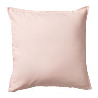 Pink canvas pillow
