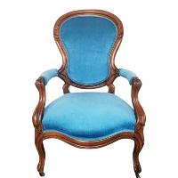 Audrey blue chair