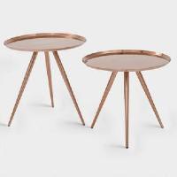 Copper nesting table set