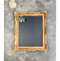Gale gold chalkboard