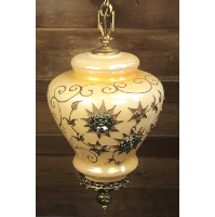 Bridget ornate gold lamp