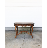 French Wood Coffee Table