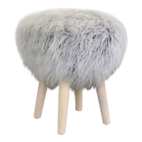 Ryan fuzzy stool