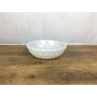 Milk glass bubble 8