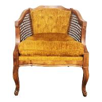 Carlton yellow chair