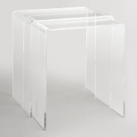 Ronny acrylic nesting table set