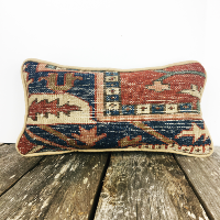 Small kilim pillow