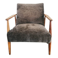 Danniel mid century grey chair
