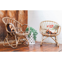 Franco cane chairs
