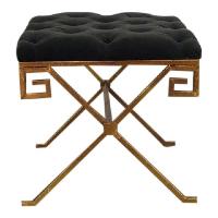Grecian tufted stool