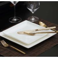 Arrezo brushed gold flatware set
