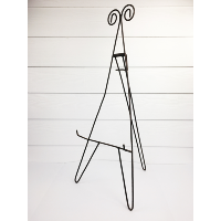 Small metal easels