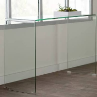 Ronny Glass console table