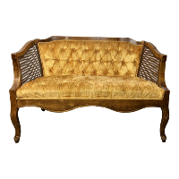 Carlton yellow settee