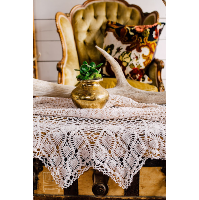 Lace table cloth