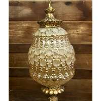 Darcy gold hanging lamp