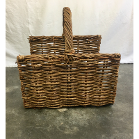 Ella wood basket