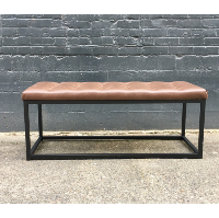 Arthur tufted bench