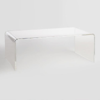 Ronny acrylic coffee table