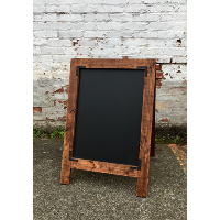 William double sided sandwhich chalkboard