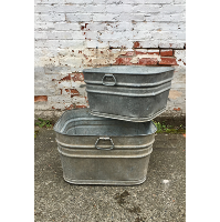 Galvinized buckets