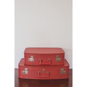 Red Duo Luggage Set