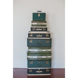 Green Luggage Collection