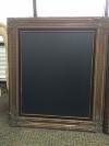 XL BRONZE W/ BLACK FRAMED CHALKBOARD