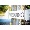 WEDDING ARROW - WHITE