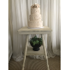 IVORY CAKE TABLE