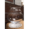 LRG CLEAR GLASS VASE