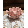 PINK ROSE FLOWER VOTIVE