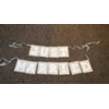 JUST MARRIED - CANVAS BANNER