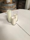 CLEAR GLASS CYLINDER - MEDIUM