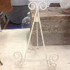 SMALL IVORY TABLETOP EASEL