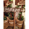 PARKING - WOOD STAKED SIGN