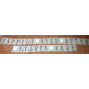 HAPPILY EVER AFTER STARTS HERE BURLAP BANNER (2 PCS)