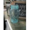 BLUE QUART MASON JAR - EA